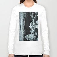 hiking Long Sleeve T-shirts featuring Let's Go Hiking by cjahwaan