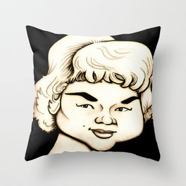 Etta James Throw Pillow