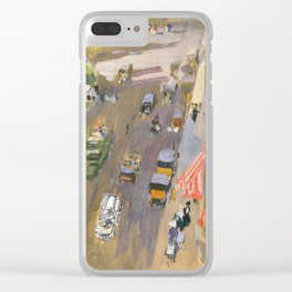 Fifth Avenue New York By Joaquin Sorolla Clear iPhone Case