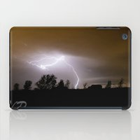 lightning iPad Cases featuring Lightning by Cory Lawrence Photography