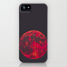 Blood Moon 1 iPhone Case