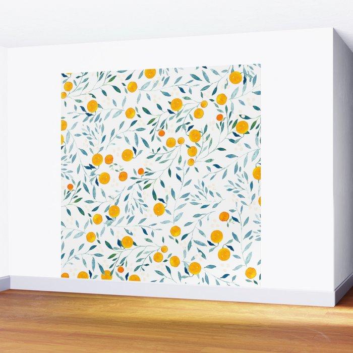 Orange Tree Wall Mural