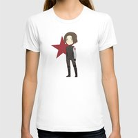 the winter soldier T-shirts featuring Winter Soldier by Nozubozu