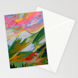 Coquihalla Sunrise Stationery Cards