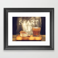 Start up Framed Art Print