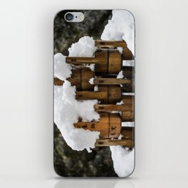 Kyoto Winter 2015 III (water buckets)  iPhone Skin