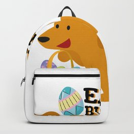 Dachshund Easter Funny For Boys Girls Love Dog Puppy Backpack