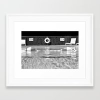 pool Framed Art Prints featuring Pool by Katie Jean Images