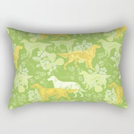 SETTERS ON THE MEADOW Rectangular Pillow