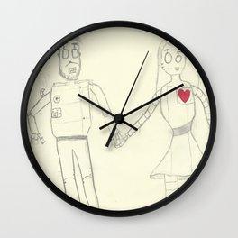 A Mechanical Love Wall Clock