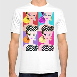 Pop Art Barbie T-shirt