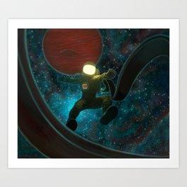 Cosmonaut: Untethered Art Print