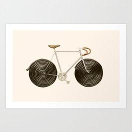 Licorice Bike Art Print