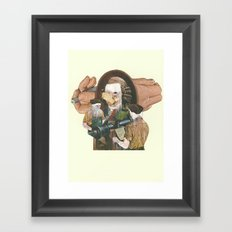 Duke Framed Art Print