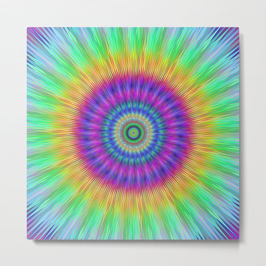 Colorful explosion Metal Print