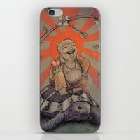buddah iPhone & iPod Skins featuring Buddah by BBarends