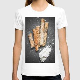 Breadsticks art #food #stilllife T-shirt