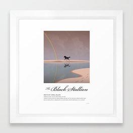 The Black Stallion (1979) Framed Art Print