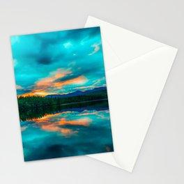 Images USA Chocorua Lake, New Hampshire Nature Lake Scenery Sunrises and sunsets sunrise and sunset landscape photography Stationery Cards