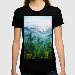 Spring Mountainscape T-shirt