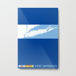 Port Jefferson- Long Island. Metal Print