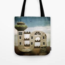 Seaside Living Tote Bag
