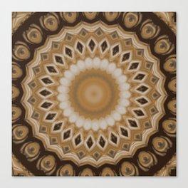 Sequential Baseline Mandala 3 Canvas Print