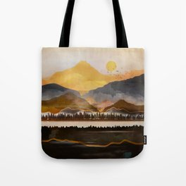Pure Wilderness at Dusk Tote Bag