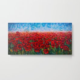 Field Of Happiness   Metal Print