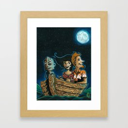 Hukilau Bound! Framed Art Print