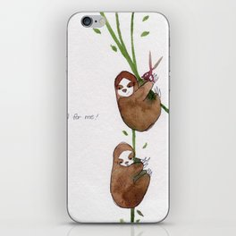 Fall for me iPhone Skin
