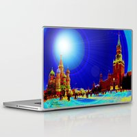 moscow Laptop & iPad Skins featuring Moscow by JT Digital Art