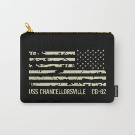 USS Chancellorsville Carry-All Pouch