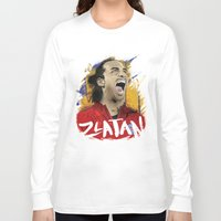 zlatan Long Sleeve T-shirts featuring Zlatan by Superfan