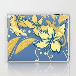 Samoan Orchid Sunset Polynesian Floral Laptop & iPad Skin