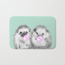 Playful Twins Hedgehog Bath Mat