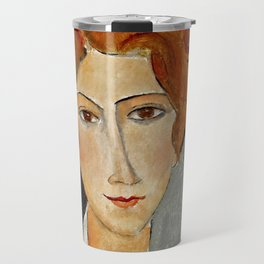 "Amedeo Modigliani ""Portrait of a Woman"" Travel Mug"