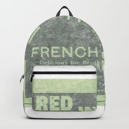 French Coffee Backpack