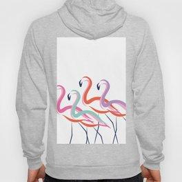 Flamingos never go solo Hoody