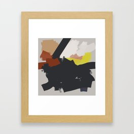 I am walking in Via della Spiga Framed Art Print