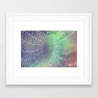 psychedelic Framed Art Prints featuring Psychedelic by Karin Elizabeth