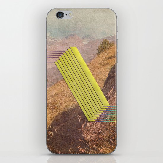 RAIN BOW MOUNTAINS iPhone & iPod Skin