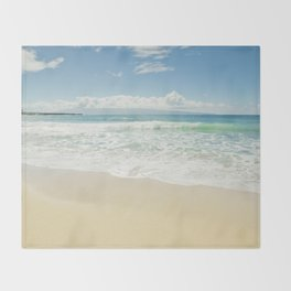 kapalua beach maui hawaii Throw Blanket