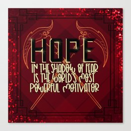 Hope (Scythe) Canvas Print