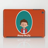 marty mcfly iPad Cases featuring Marty McFly by Juliana Motzko