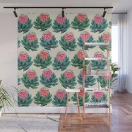 Protea flower garden Wall Mural