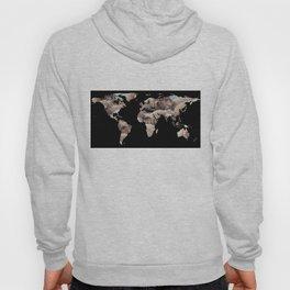 World Map Silhouette - Sheep Herd Hoody