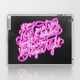 Daft Punk - Doin' It Right - Lettering Laptop & iPad Skin
