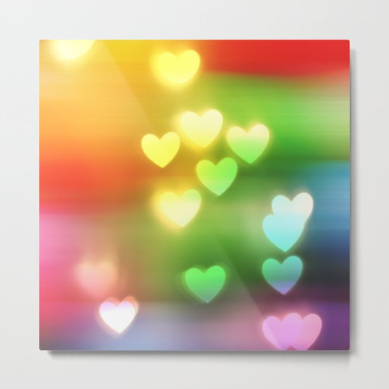 Love in Motion Metal Print