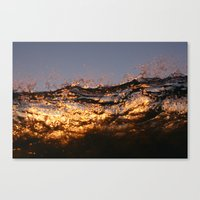 lip Canvas Prints featuring Lip by Tom Brune
